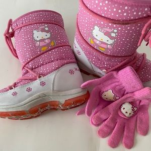 Hello Kitty Snow Boots Youth